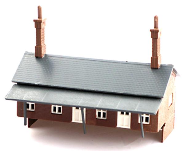 N Scale - Kestrel Designs - GMKD09 - Railroad Structures - Station Buildings Kit