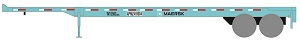 N Scale - Deluxe Innovations - 1131 - Container Chassis, 40 Foot - Maersk - 599018, 427687