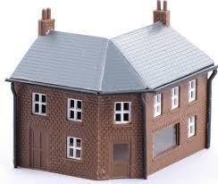 N Scale - Kestrel Designs - GMKD25 - Commercial Structures - Corner Shop Kit