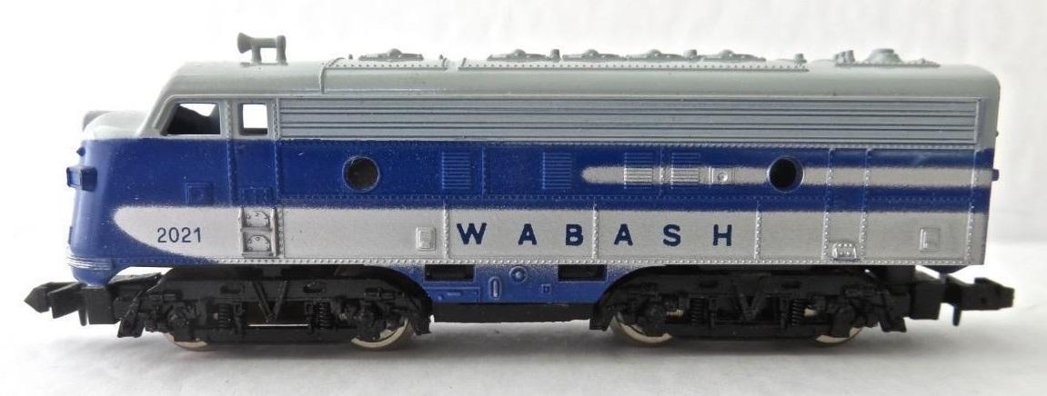 N Scale - Lima - 232 - Locomotive, Diesel, EMD F7 - Wabash - 2021
