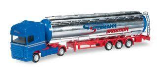 N Scale - Herpa - 066259 - Semi Tractor Trailer - Stermann