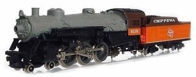 N Scale - Rivarossi - 9130 - Locomotive, Steam, 4-6-2, Pacific - Milwaukee Road - 6139