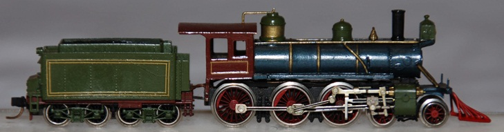 N Scale - Rocky Mountain Models - 4-6-0 - Locomotive, Steam, 4-6-0 - Painted/Unlettered - 12
