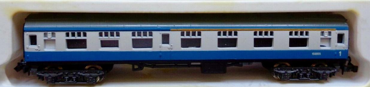 N Scale - Lima - 306 - Passenger Car, British Rail, Mark 1 Coach - British Rail - 15865