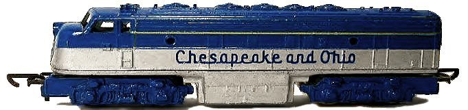 N Scale - Lone Star - EL.64 - Locomotive, Diesel, EMD F7 - Chesapeake & Ohio