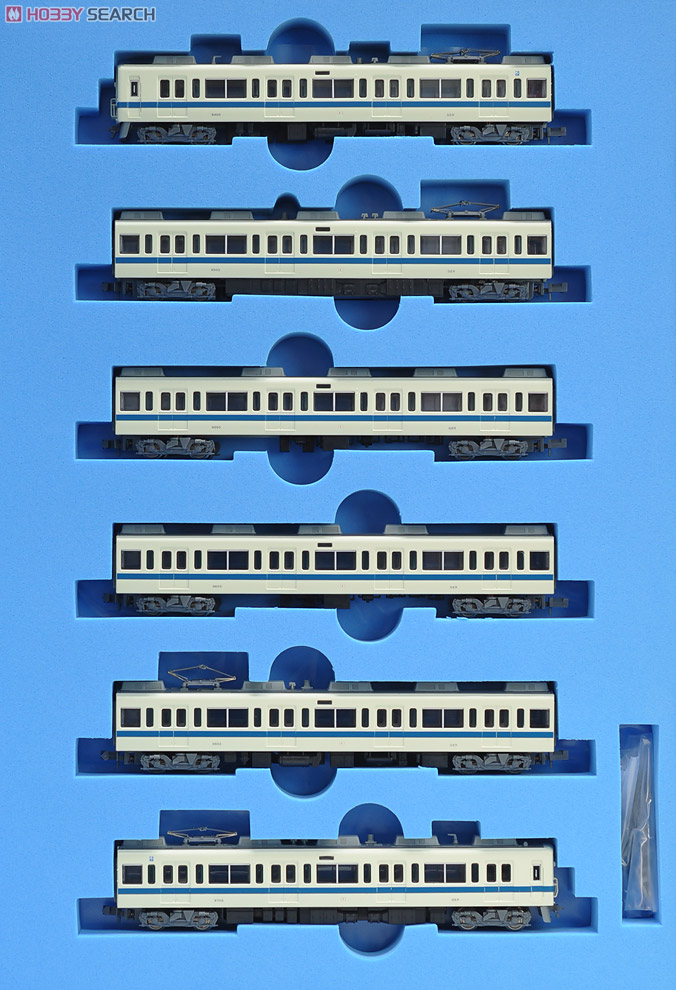 N Scale - Micro Ace - A6193 - Passenger Train, Electric, Odakyu 9000 Series - Odakyu Electric