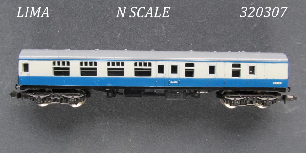 N Scale - Lima - 307 - Passenger Car, British Rail, Mark 1 Coach - British Rail - 35024