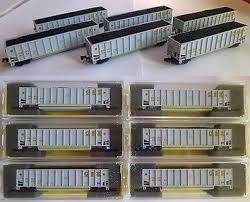 N Scale - Deluxe Innovations - 12060-10 - Gondola, Bathtub, Johnstown Twin Tub - CSX Transportation - 390671 390703 391479 391525 391740 392304 392347 392436 392518 392522
