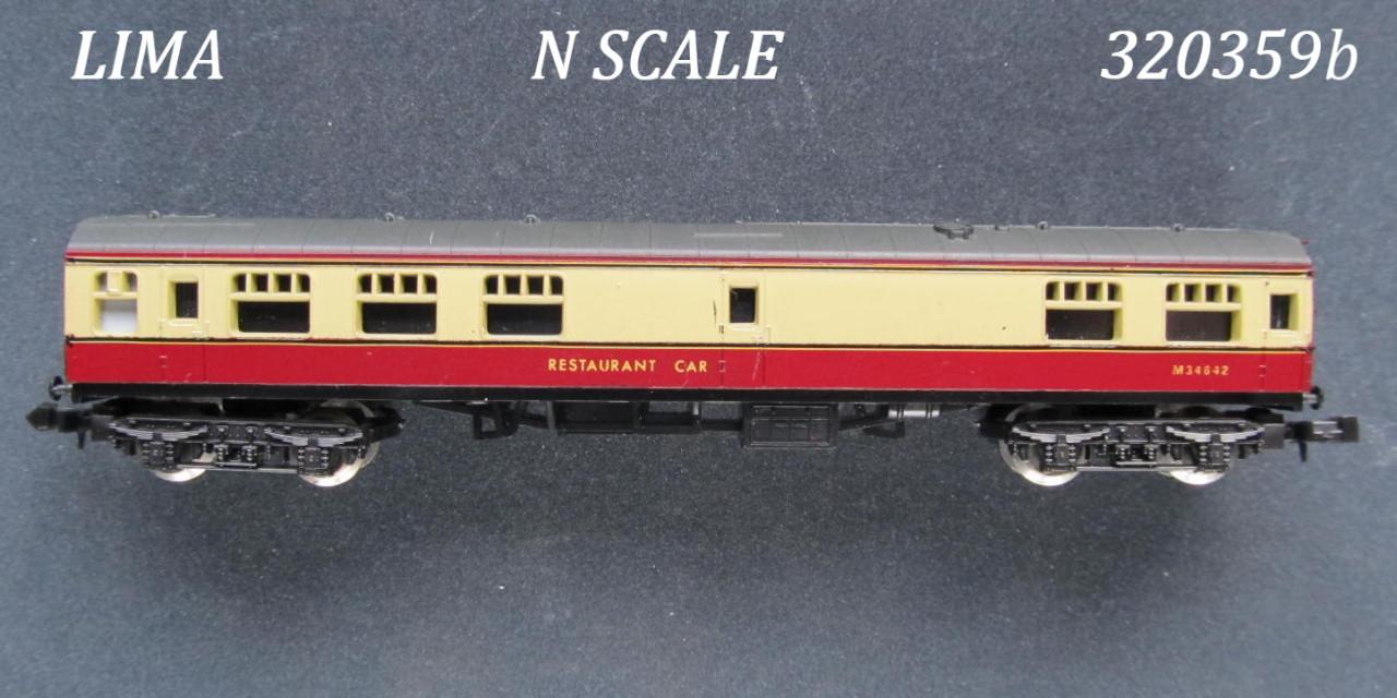 N Scale - Lima - 320359 - Passenger Car, British Rail, Mark 1 Coach - British Rail - M 34642
