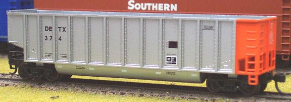 N Scale - Deluxe Innovations - 122100 - Gondola, Bathtub, Johnstown Twin Tub - Detroit Edison - 413 418 425 452 466 476 487 510 515 533