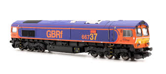 N Scale - Dapol - 2D-007-006 - Locomotive, Diesel, EMD Class 66 - GB Railfreight - 66737