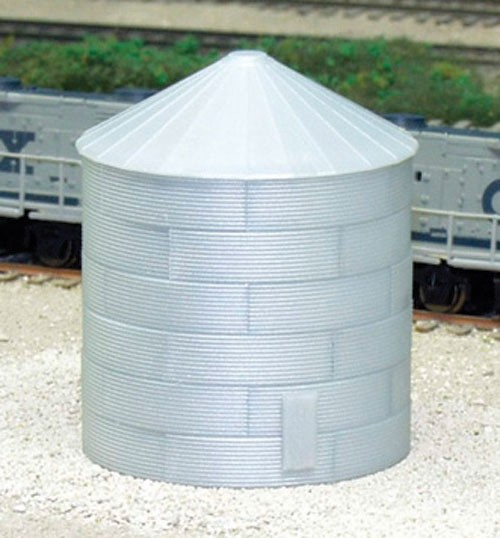 N Scale - Rix Products - 628-703 - Grain Bin - Agricultural Structures
