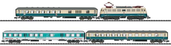 N Scale - Minitrix - 11635 - Passenger Train, Electric, Europe, Epoch IV - Deutsche Bahn - 4-Pack