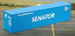 N Scale - Deluxe Innovations - 20040 - 40 - DSR-Senator - 2 numbers