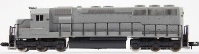 N Scale - Kato USA - 176-310 - Locomotive, Diesel, EMD SD45 - Undecorated - Undecorated