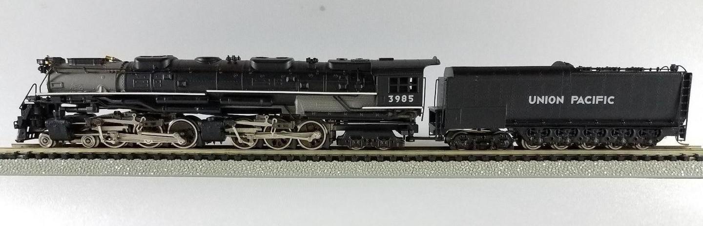 N Scale - Key - U.P. Challenger - Locomotive, Steam, 4-6-6-4 Challenger - Union Pacific - 3985