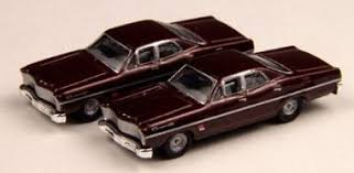 N Scale - Classic Metal Works - 50235 - Automobile, Ford, Custom - Painted/Unlettered - 1967 Ford Custom 500, 4-door