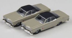 N Scale - Classic Metal Works - 50258 - Automobile, Ford, Custom - Painted/Unlettered - 1967 Ford Custom 500, 4-door