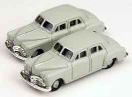 N Scale - Classic Metal Works - 50295 - Automobile, Dodge, Meadowbrook - Dodge - 1950 Dodge Meadowbrook 4-door Sedan