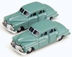 N Scale - Classic Metal Works - 50296 - Automobile, Dodge, Meadowbrook - Painted/Unlettered - 1950 Dodge Meadowbrook 4-door Sedan