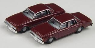 N Scale - Classic Metal Works - 50259 - Automobile, Chevrolet, Impala - Painted/Unlettered - 1978 Chevrolet Impala, 4-door,