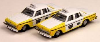 N Scale - Classic Metal Works - 50236 - Automobile, Chevrolet, Impala - Taxi - 1978 Chevrolet Impala, 4-door,