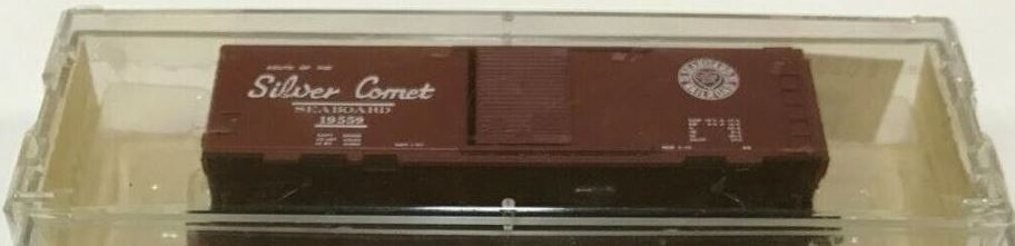 N Scale - Brooklyn Locomotive Works - BLW-131A - Boxcar, 40 Foot, PS-1 - Seaboard Air Line - 19559