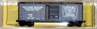 N Scale - Ak-Sar-Ben - 9211C - Boxcar, 40 Foot, PS-1 - Jack Daniels - 040