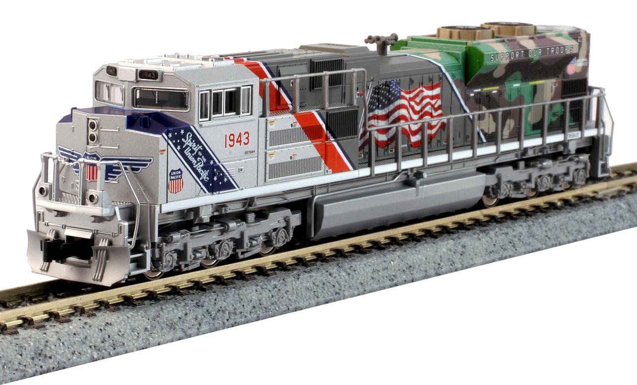 N Scale - Kato USA - 176-1943 - Locomotive, Diesel, EMD SD70 - Union Pacific - 1943