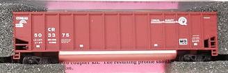 N Scale - Deluxe Innovations - 12021 - Gondola, Bathtub, Johnstown Twin Tub - Conrail - 504432