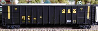 N Scale - Deluxe Innovations - 10080-6 - Gondola, Woodchip - CSX Transportation - 6 numbers