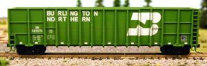 N Scale - Deluxe Innovations - 105803 - Gondola, Woodchip - Burlington Northern - 585829,585907,585966