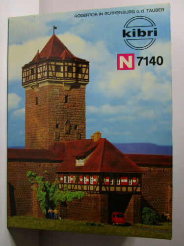 N Scale - Kibri - 7140 - City Walls - Municipal Structures - City Wall Section with Entrance