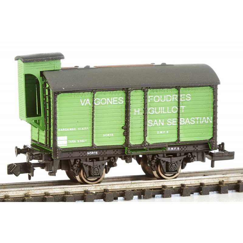 N Scale - K*train - 1705-A - Tank Car, Wine Barrel - Norte - D.M.F. 8
