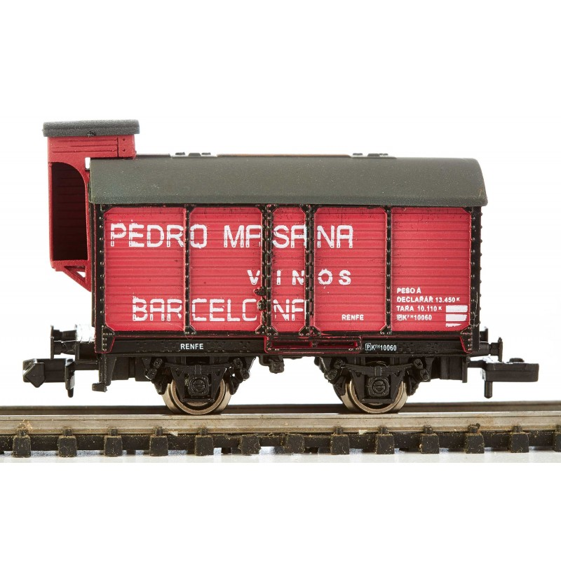 N Scale - K*train - 1705-B - Tank Car, Wine Barrel - Renfe - PK-10060