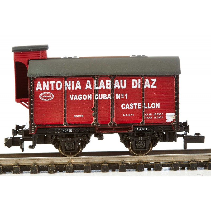 N Scale - K*train - 1705-C - Tank Car, Wine Barrel - Norte - AAD-1