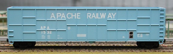 N Scale - Deluxe Innovations - 160601 - Gondola, Woodchip - Apache - 1532