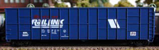 N Scale - Deluxe Innovations - 16020-6 - Gondola, Woodchip - Montana Rail Link - 6 numbers