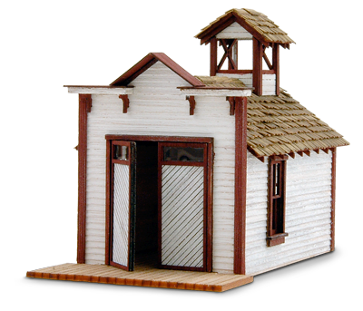 N Scale - Wild West Scale Model Builders - 106 - Municipal Structures