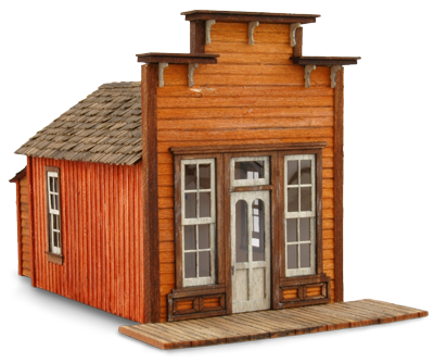 N Scale - Wild West Scale Model Builders - 107 - Commercial Structures