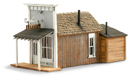 N Scale - Wild West Scale Model Builders - 108 - Commercial Structures