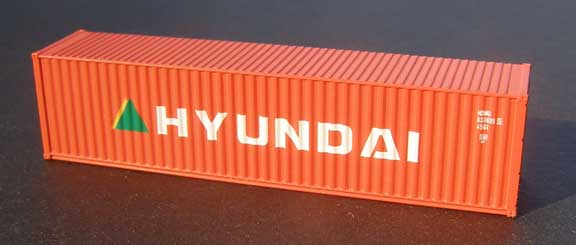 N Scale - Deluxe Innovations - 520101 - 40 - Hyundai - 5 numbers