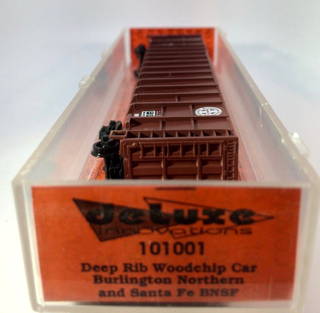 N Scale - Deluxe Innovations - 101001 - Gondola, Woodchip - Burlington Northern Santa Fe - 541427