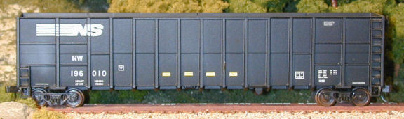 N Scale - Deluxe Innovations - 105503 - Gondola, Woodchip - Norfolk Southern - 3 numbers