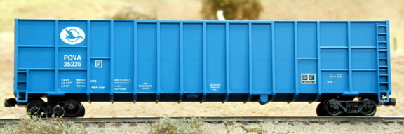 N Scale - Deluxe Innovations - 101102 - Gondola, Woodchip - Pend Oreille Valley - 35226 35221