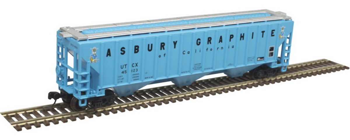 N Scale - Atlas - 50 004 707 - Covered Hopper, 3-Bay, Thrall 4750 - Union Tank Car - 45122