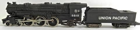 N Scale - Arnold - 0228U - Locomotive, Steam, 4-6-2, Pacific - Union Pacific - 5312