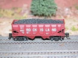 N Scale - Hay Bros - 9603 07 - Load - Painted/Unlettered - Metallurgical Coke