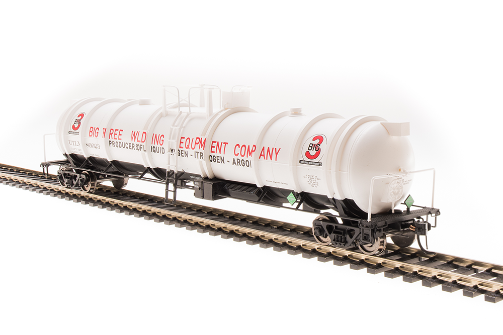 N Scale - Broadway Limited - 3722 - Tank Car, Cryogenic - Big Three - 2-pack
