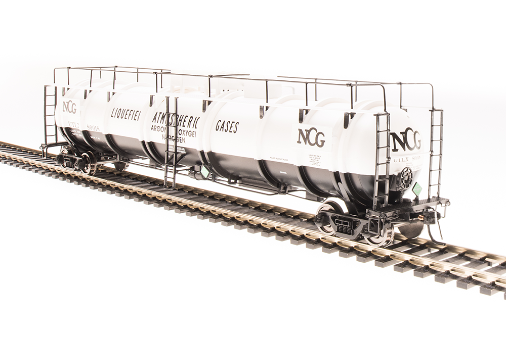 N Scale - Broadway Limited - 3733 - Tank Car, Cryogenic - NCG - 80018